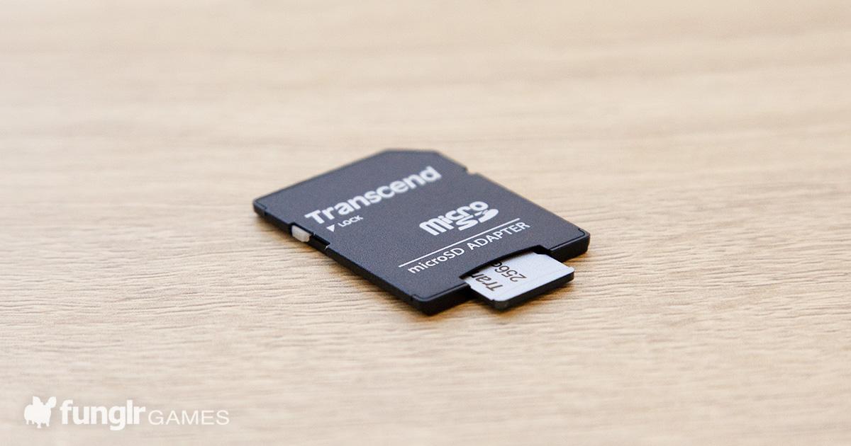 【開箱】買了張Transcend microSD卡,放進Nintendo Swicth試試看!