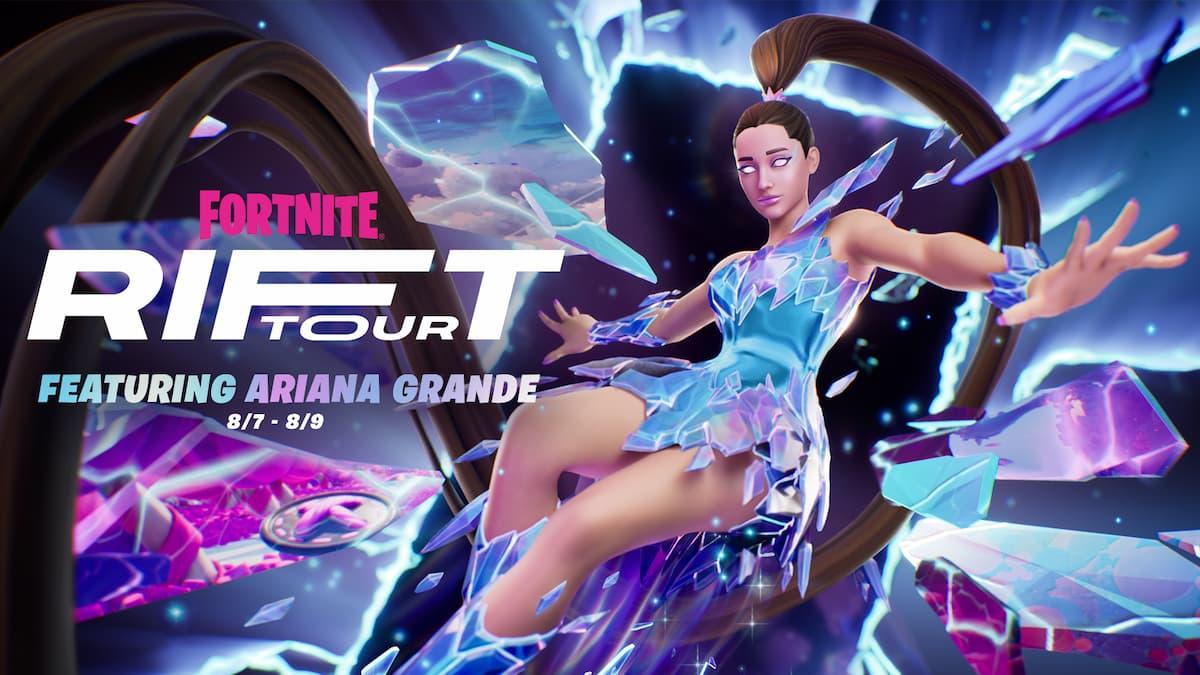 Fortniteにアリアナ・グランデがやってくる!「リフトツアー Featuring Ariana Grande」開催決定!