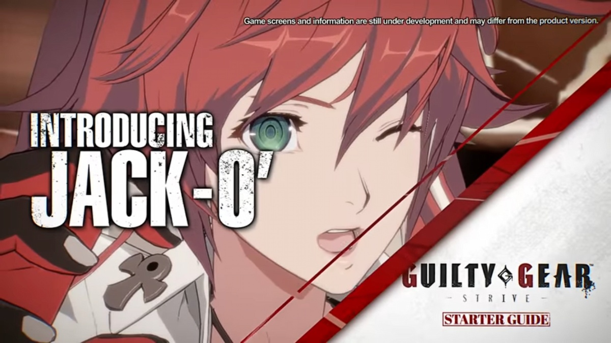 配信直前!「GUILTY GEAR -STRIVE-」第2弾追加キャラクター「ジャック・オー」のスターターガイドが公開!