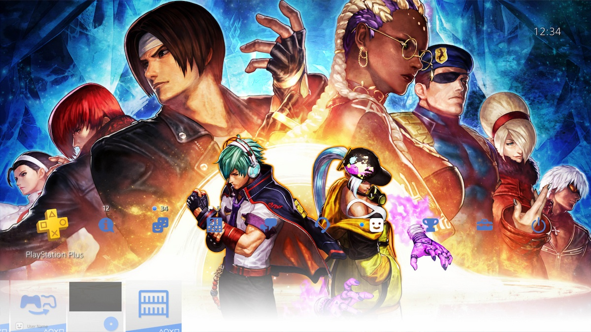 PS4 オリジナルテーマ