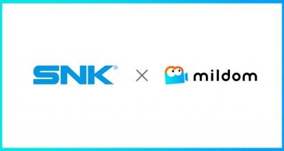 ライブ配信サービス「Mildom」でSNKタイトルを利用した配信の収益化が可能に!包括契約を締結