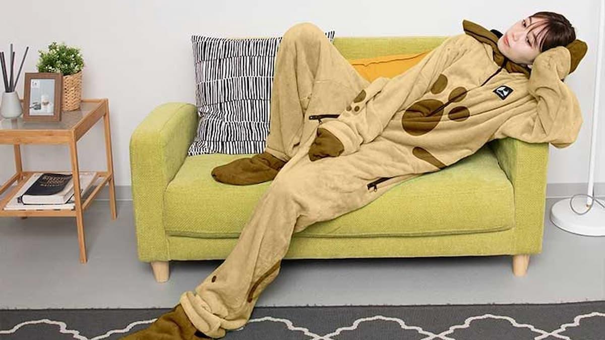 モンハン × Bauhutte!?イーカプコンで着る毛布「ダメ着」のアイルーモデルが予約受付中!