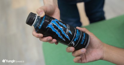 モンエナのスポドリ!青い「モンスター スーパーフュエル ブルーストリーク」を運動後に飲んでみた!