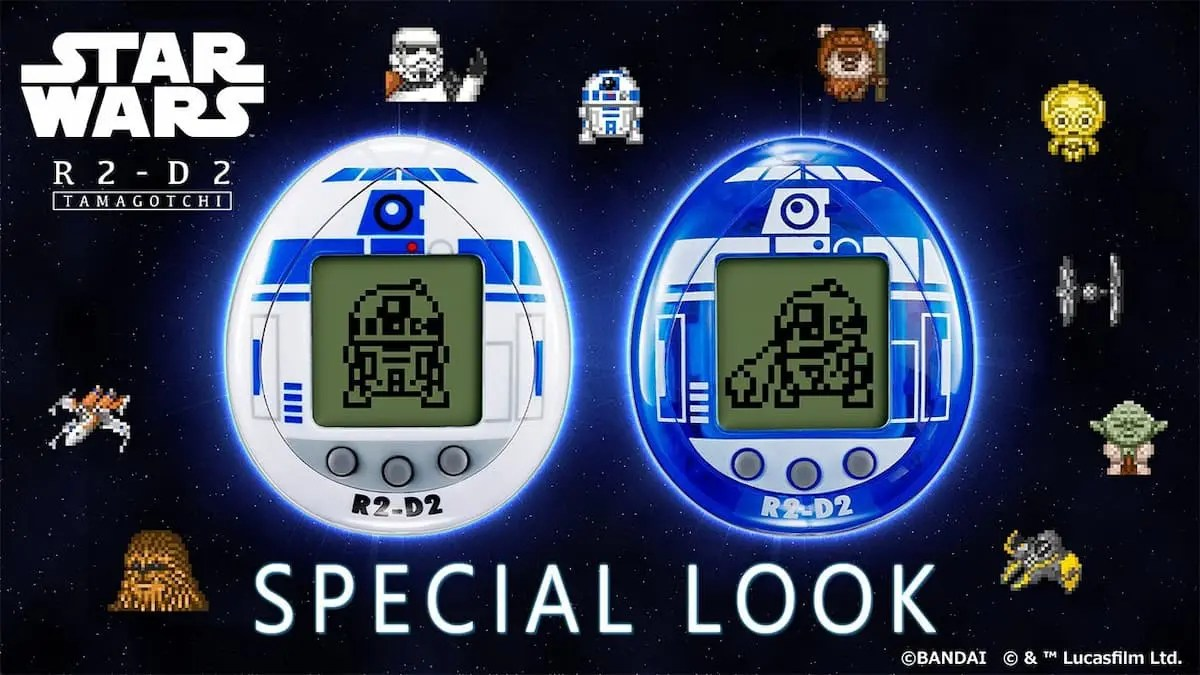 STAR WARS × TAMAGOTCHI!R2-D2變了電子寵物「他媽哥池」!