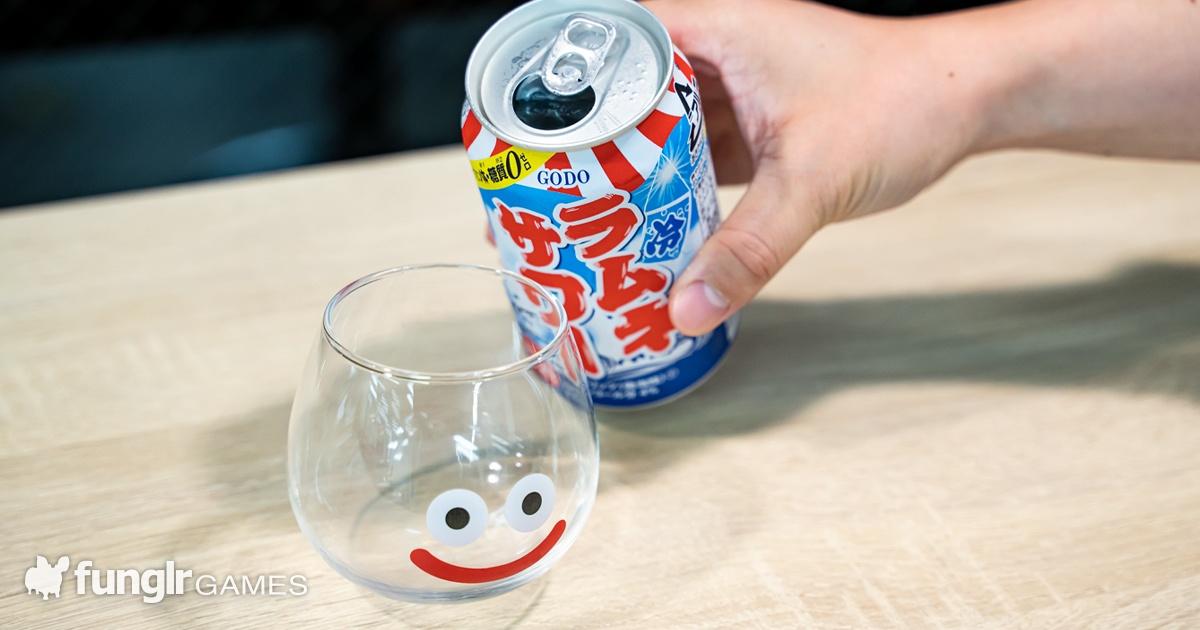 ゲーム中のお酒に最適?プリン体・糖質ゼロの「ラムネサワー」を飲んでみた!