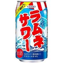 GODO ラムネサワー 350缶 1ケース