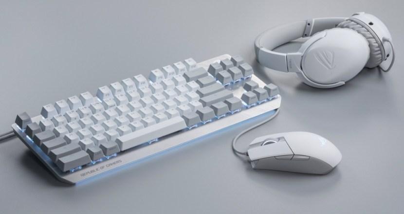 洗練された白が美しい!ASUS「ROG Moonlight White」シリーズ ゲーミングデバイス4製品が新登場!