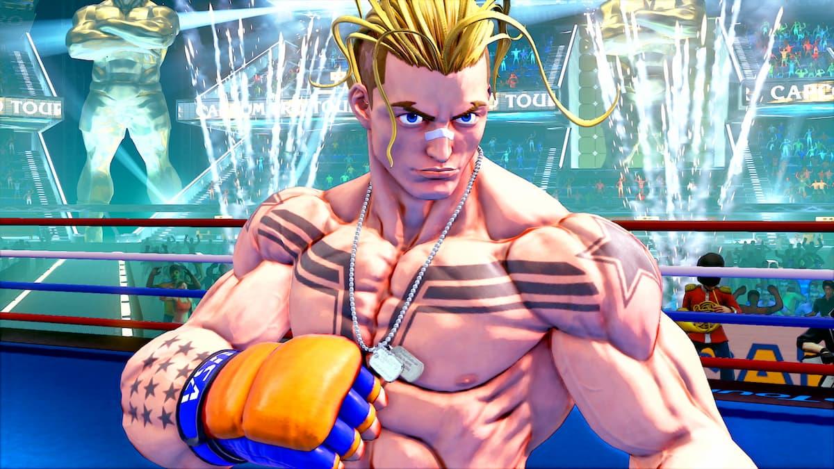 Street Fighter V Season 5的最後追加角色終於公開!新角色「LUKE」參戰!