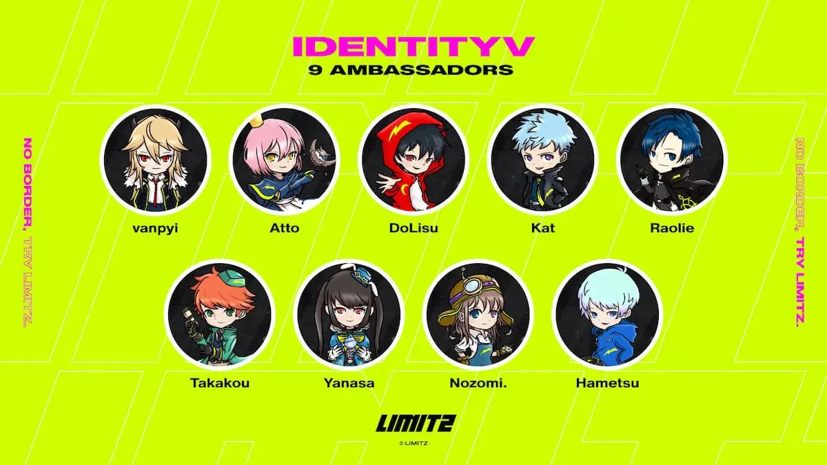 IdentityV 第五人格 大会アンバサダー