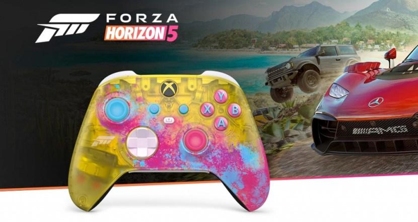Xboxワイヤレスコントローラーの限定モデルが続々!「Forza Horizon 5 リミテッド エディション」と「アクア シフト」が登場!