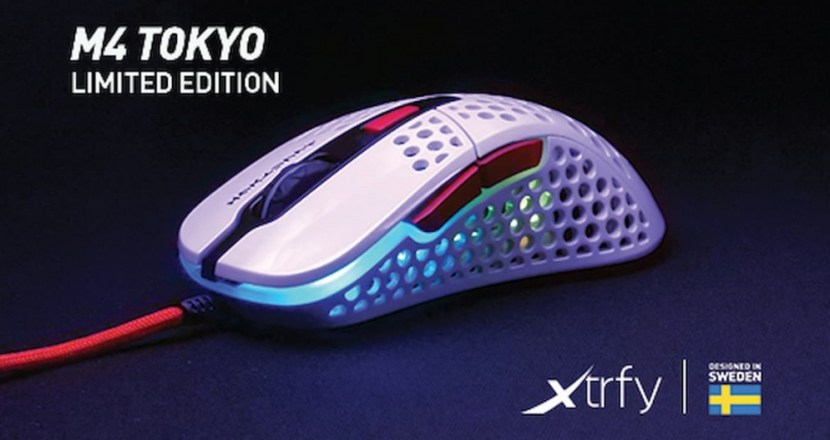 【エクストリファイ】Xtrfyの肉抜きマウス「M4」に東京インスパイアモデルが登場!