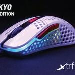 68300Rocket Jump Ninjaデザインの肉抜きゲーミングマウスに新色登場!「Xtrfy MZ1 - White Rail」発売決定!