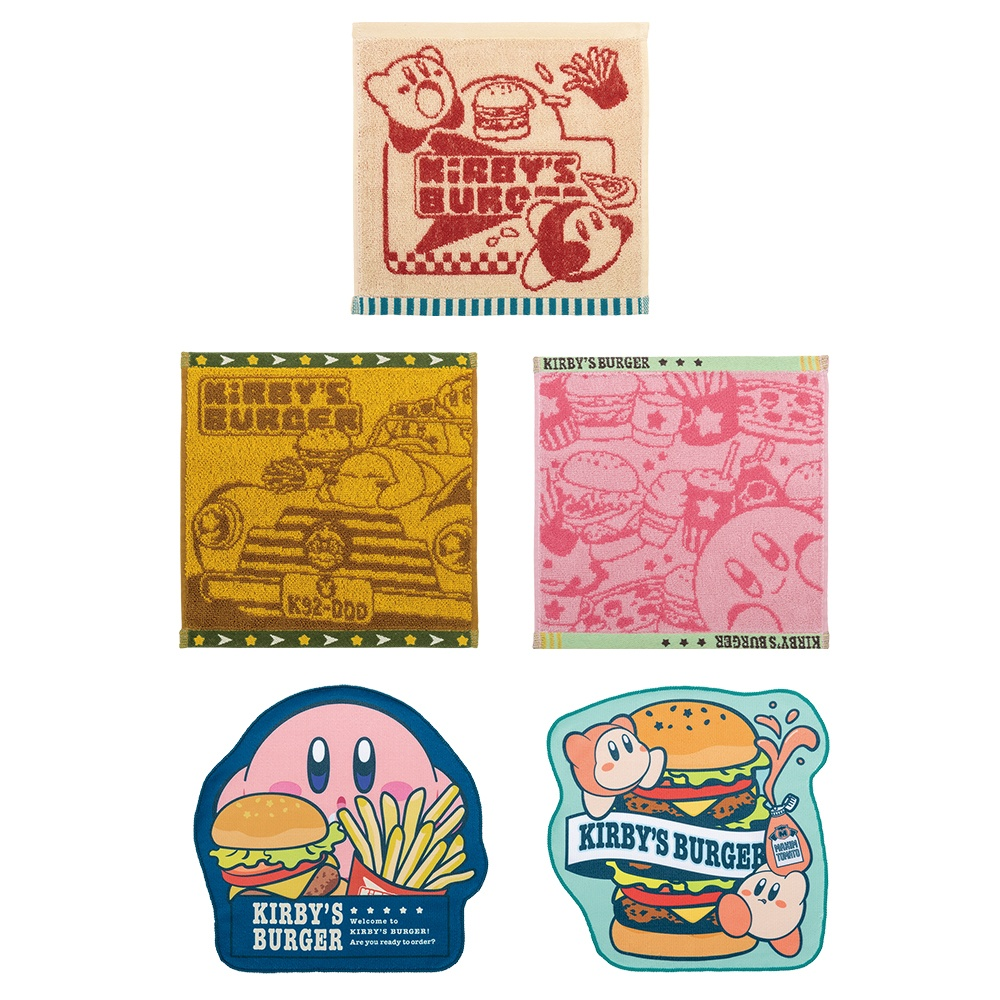 一番くじ「星のカービィ KIRBY'S BURGER」が9月24日に新発売!