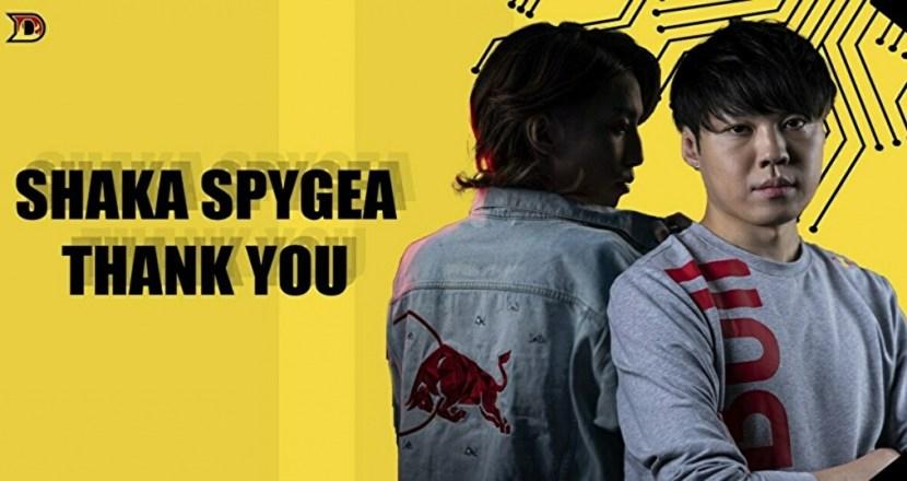 プロゲーミングチーム「DETONATOR」からSHAKAさん・SPYGEAさんが卒業!