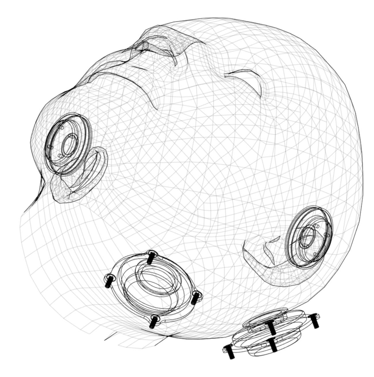 VRデバイス「HalfDive」