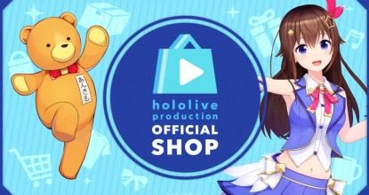 「ホロライブプロダクション」公式オンラインショップ「hololive production OFFICIAL SHOP」オープン!