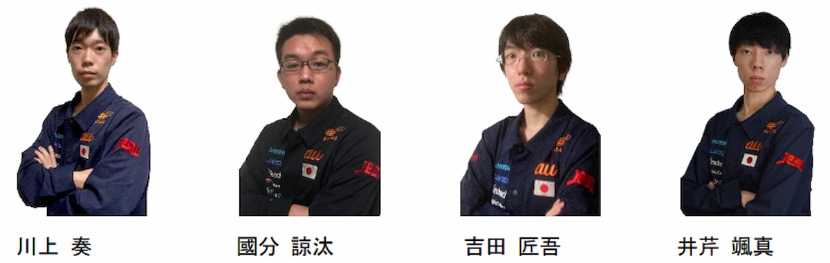 グランツーリスモSPORT 日本代表選手