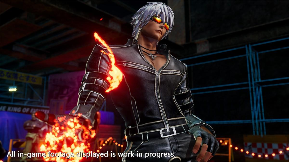TGS2021 Onlineの「Xbox Live Stream」で突如発表!KOF XV「K'」のキャラクタートレーラー公開!