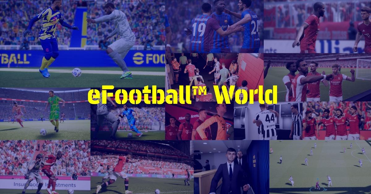 KONAMI《eFootball 2022》試遊活動! 起在9月30日公開前看看遊戲內容!