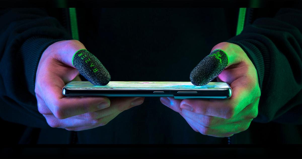 Razer推出手機玩家專用產品 電競指套「Razer Gaming Finger Sleeve」