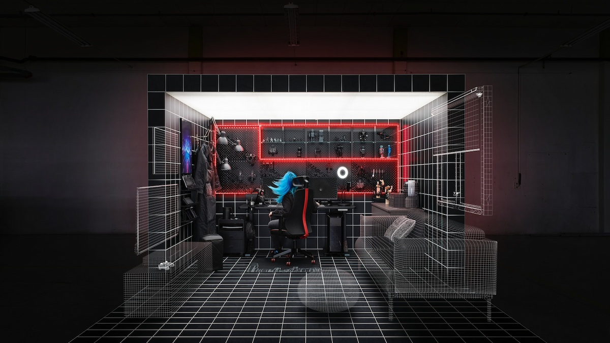 IKEA於東京電玩展開店 ! 將在活動聯同ROG推出新電競家具 !