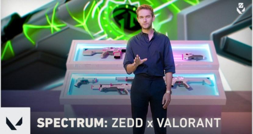 「VALORANT」と音楽プロデューサー「Zedd」のコラボレーションが実現!「VALORANT」初のオーディオ連動型スキンも発表!