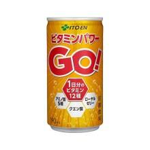 伊藤園 ビタミンパワーGO 缶 190ml×30本