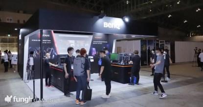 超湾曲モニターから世界初プロジェクターまで揃ったTGS2021の「BenQ」ブースで最新デバイスを体験!