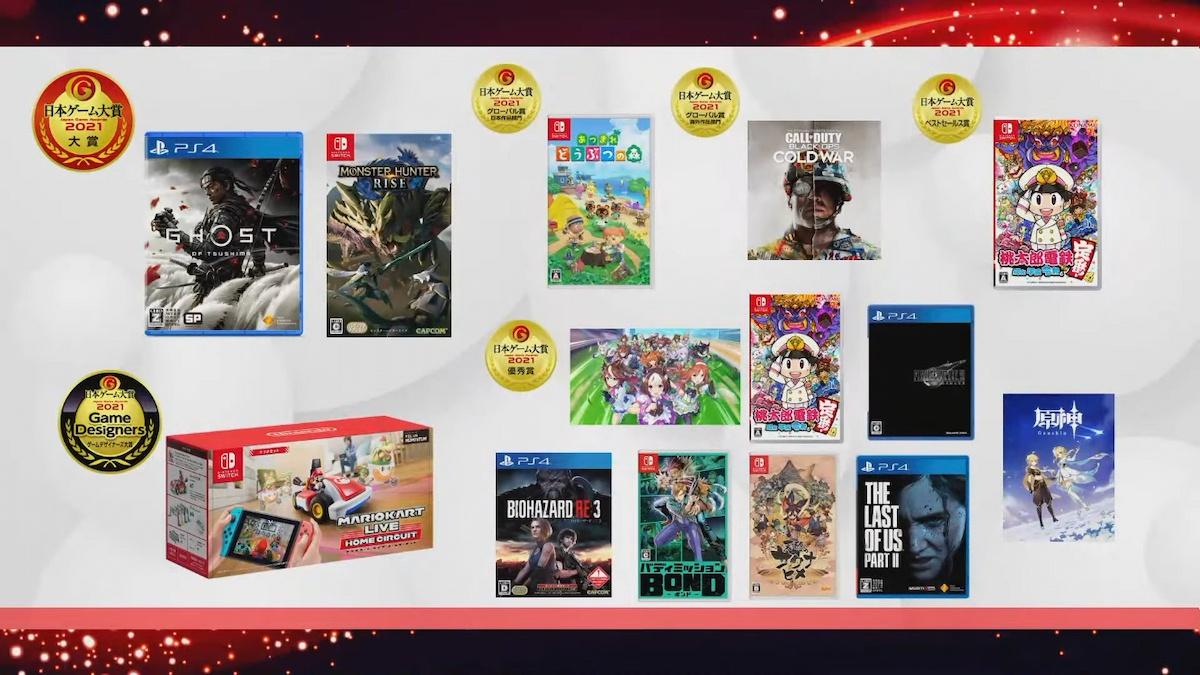 值得一玩遊戲清單!日本遊戲大賞2021「年度作品部門」各得獎遊戲價格&官網統整介紹!