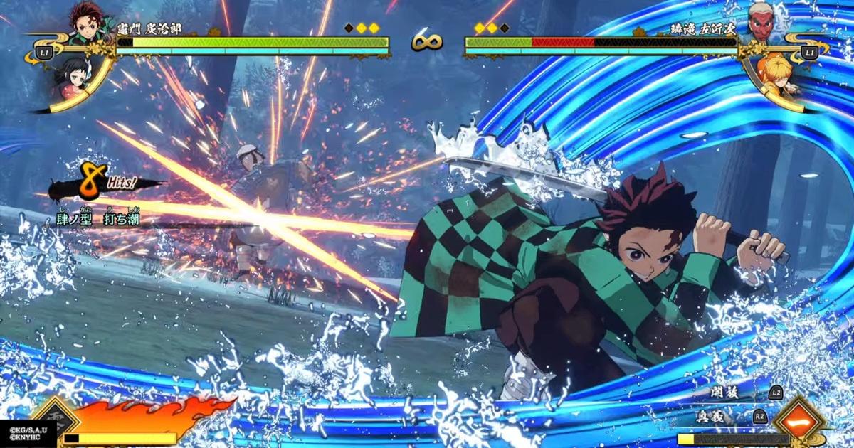 在東京遊戲展2021 Online 試玩鬼滅之刃 火之神血風譚!