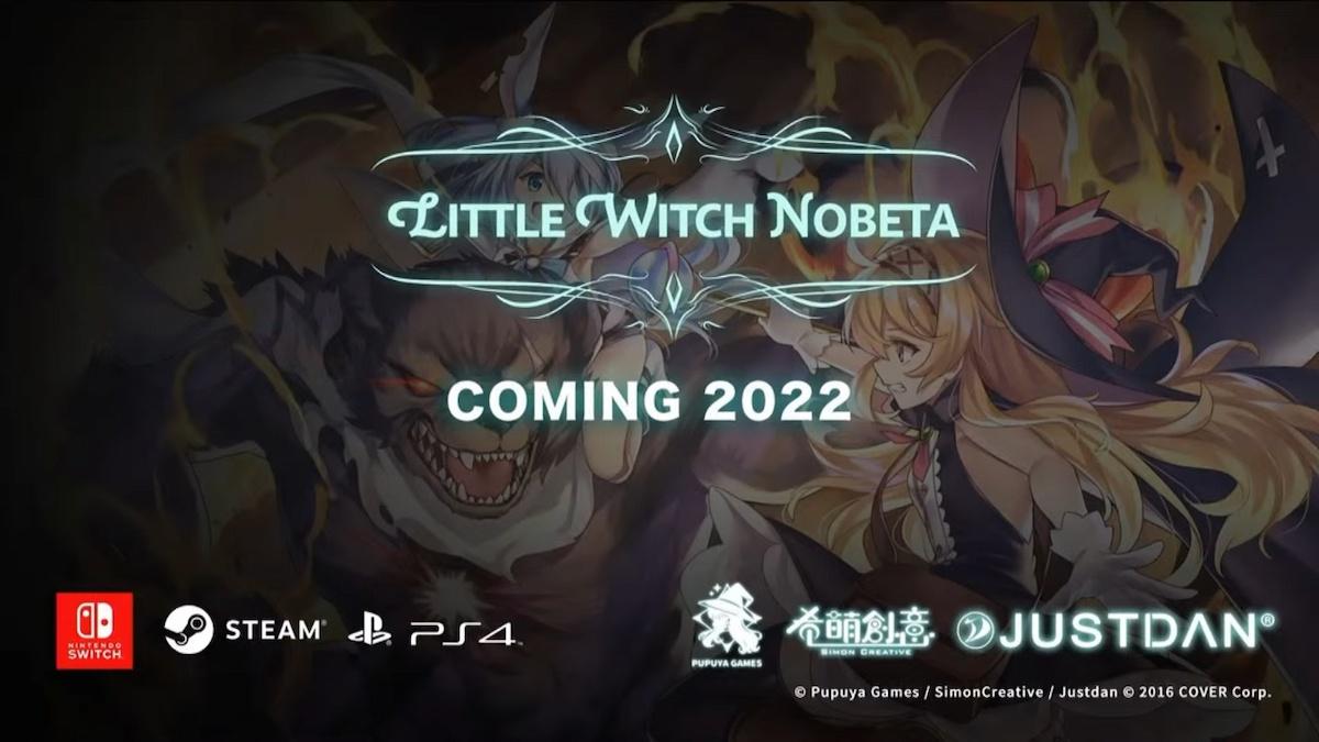 ロリダークソウルこと「Little Witch Nobeta」の最新情報公開!ホロライブ所属のVTuberを声優起用!