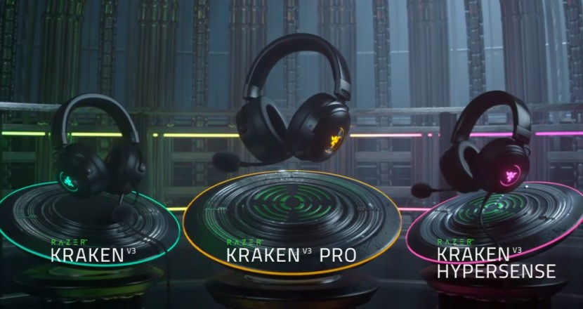 Razer電競耳機Kraken V3系列新型號發表!