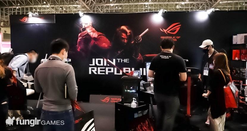 TGS2021 幕張メッセ会場「ASUS JAPAN」展示ブースで最新ROG製品を体験!