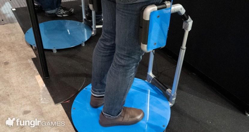 TGS2021「広島市立大学」オフライン会場でVR歩行装置「Movere Crus」の可能性に出会う