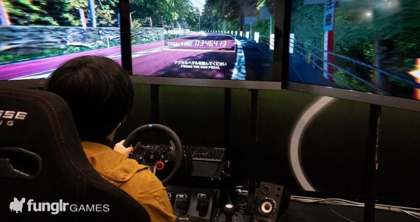 TGS2021オフライン会場「日本電子専門学校」で出会った超クオリティの学生作品「AimRacing2021」とその歴史