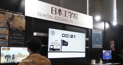 """TGS2021「日本工学院」オフライン会場で「Wild West Locomotive」に見た""""遊び""""へのこだわり"""