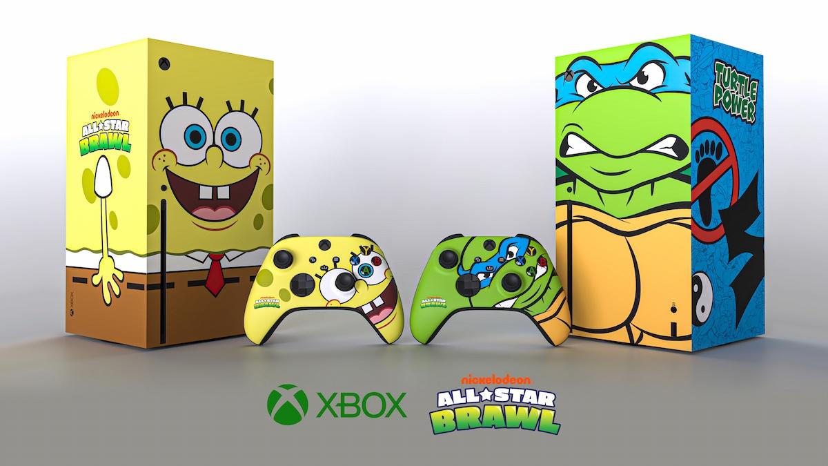 スポンジボブにレオナルド!?特別デザインのXbox Series Xプレゼントキャンペーン開催中!