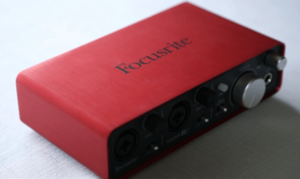 focusrite 2i2 review