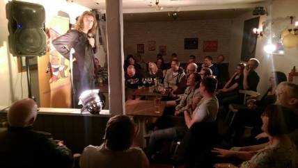 Derby Comedy Club at Blessington Carriage - Daliso