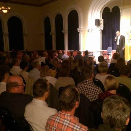 Grantham Comedy Club Guildhall Crowd
