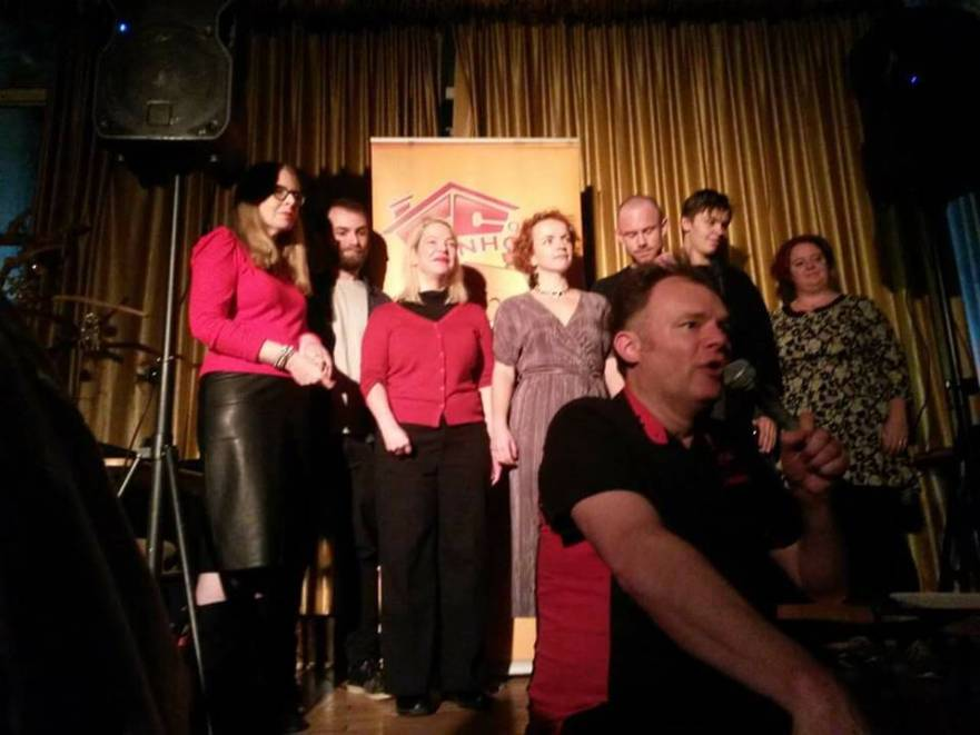 Leicester Comedy Club Finalists at Kayal