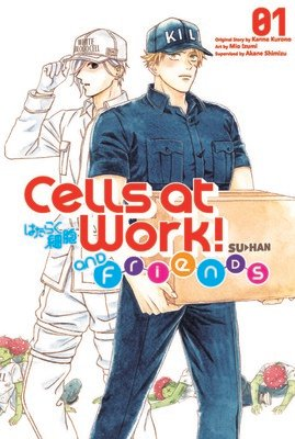 Cells at Work and Friends! Spinoff Manga Ends on April 13