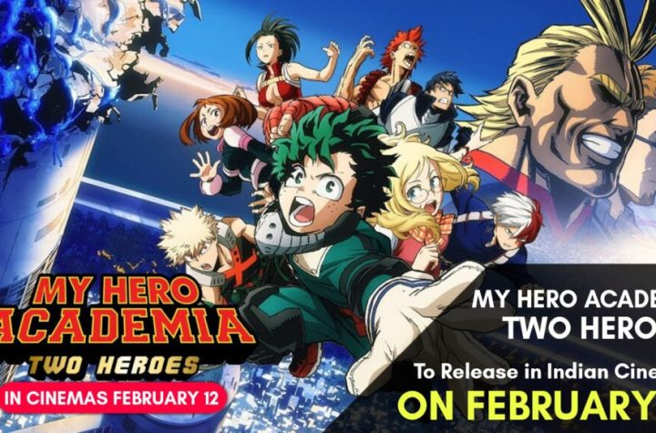 "PVR Cinemas To Release "" My Hero Academia "" Movies in Indian Theatres in February/March 2021. - ANIME NEWS INDIA"
