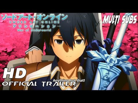 Sword Art Online Alicization War of Underworld Final Season Trailer | Reveals Ending & Opening Song