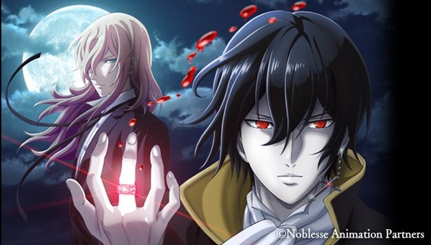 """Teaser Trailer and Theme Song Artists Revealed for TV Anime Adaptation of Korean Manhwa """"Noblesse"""""""
