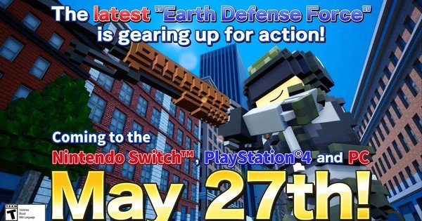 Earth Defense Force: World Brothers Game's Trailer Reveals May 27 Release Date, PC Version