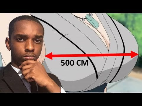 How Big Are Tsunade's T*tties? (Circumference)