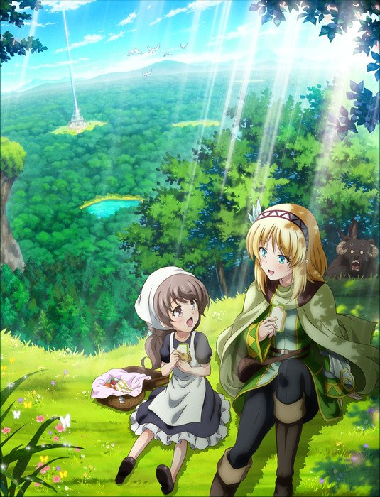In the Land of Leadale VR Isekai TV Anime Unveils 1st Visual