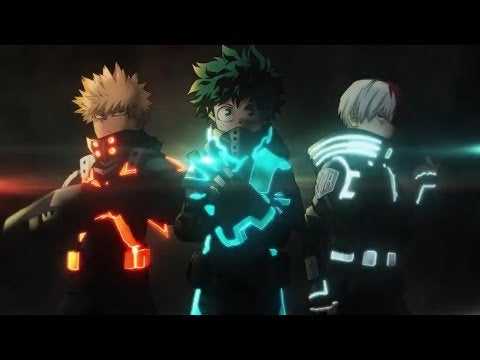 TV Anime My Hero Academia The Movie 3 World Heroes Mission - Official Tr...