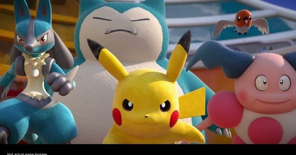 Pokémon Unite Team Battle Game's Trailer Reveals July Debut for Switch, September for iOS/Android